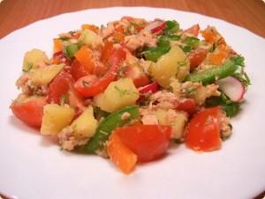 Дачний салат