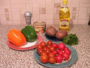 Дачний салат - 1