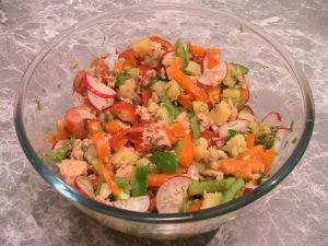 Дачний салат - 8