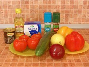 Грецький салат інгредієнти