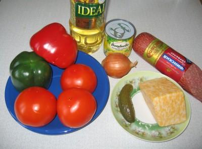 Овочевий салат Мехіко