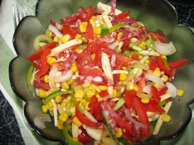 Смачний салат «Мехіко»