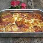 Запечені баклажани під томатним соусом