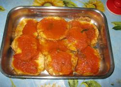 Запечені баклажани під томатним соусом - 5