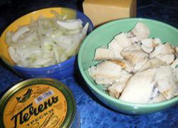 Рибний салат - інгредієнти