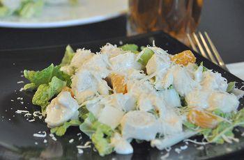 Салат з курячого філе з пекінською капустою