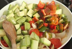Запечені овочі
