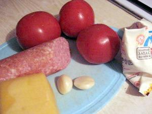Інгредієнти для салату Вікінг