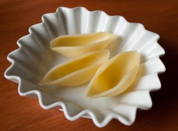 Лососевий салат в мушлях 2