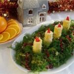 Новорічні салати 2012