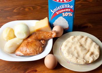 Тарталетки з копченою куркою та картоплею Інгредієнти