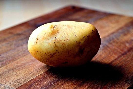 Печена картопля з сиром 1