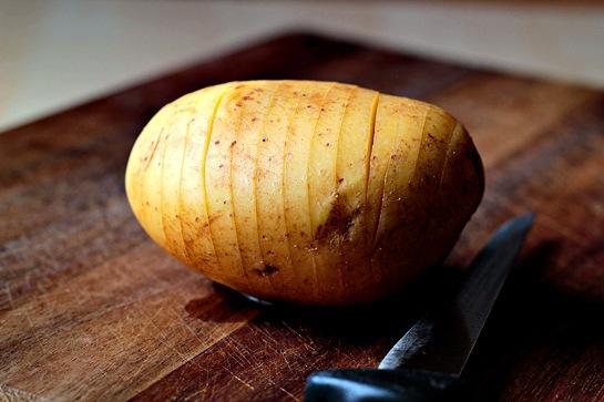 Печена картопля з сиром 2