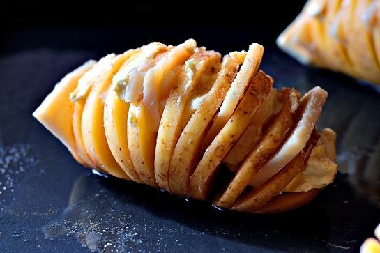 Печена картопля з сиром 3