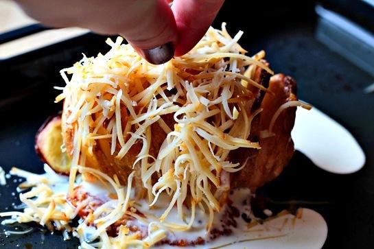 Печена картопля з сиром 5