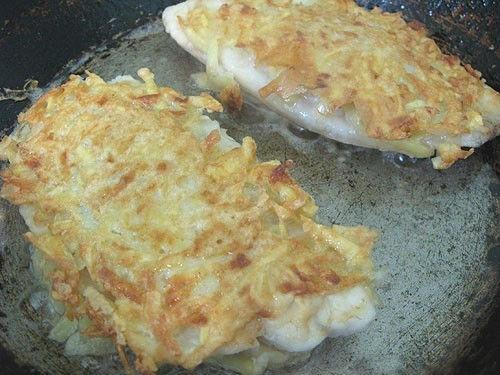 Риба в картопляної скоринці 3