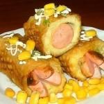 Сосиски в картоплі