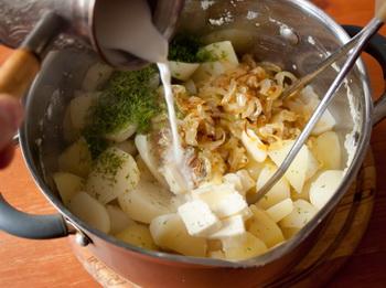 Картопляне пюре з цибулею 2