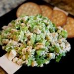 Курячий салат з зеленою цибулею