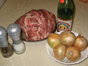 Шашлик зі свинини Інгредієнти