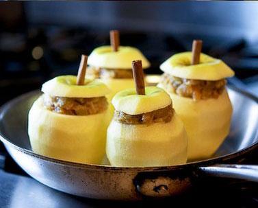 Запечені яблука 3