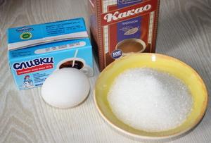Какао Інгредієнти