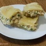 Пиріг з цибулею і сиром
