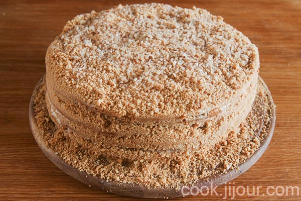 Торт медовий 11