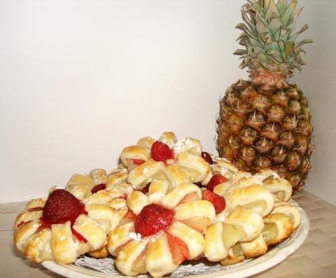 Печиво з ананасами