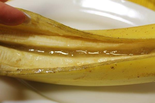 Запечений банан з корицею і медом 4