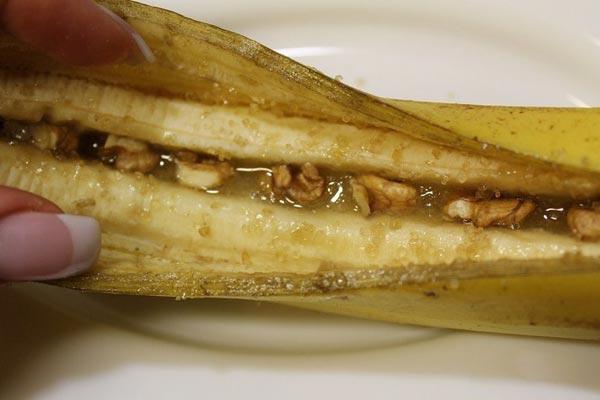 Запечений банан з корицею і медом 6