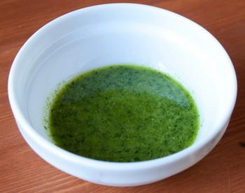 Оселедець під шубою з зеленим часниковим соусом 8
