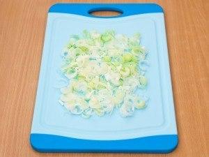 Овочевий салат з шинкою 2