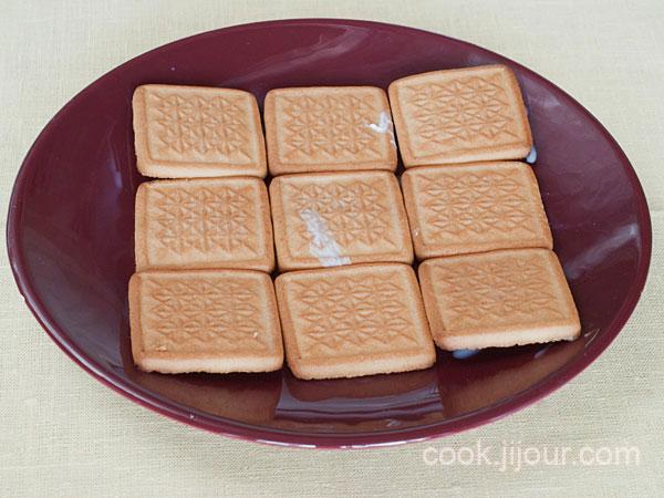 Торт із печива та сиру 4