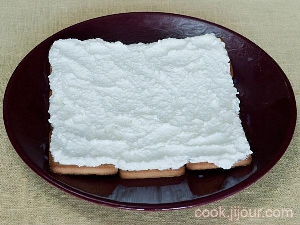 Торт із печива та сиру 5