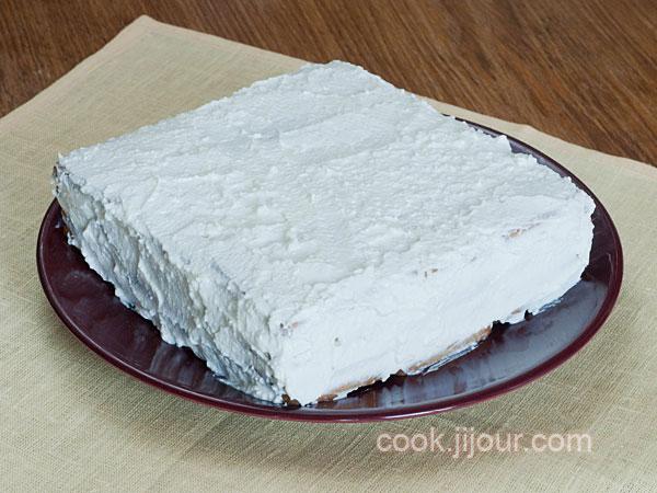 Торт із печива та сиру 6