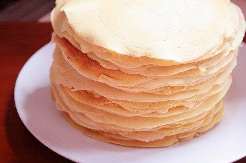 Полуничний торт з млинців 5