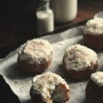 Пончики з кокосом