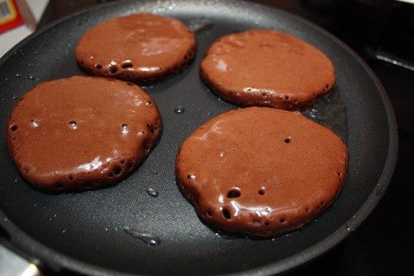Шоколадні оладки 3