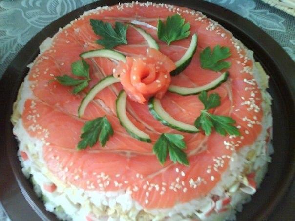 Суші-торт
