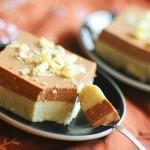 Ванільно-шоколадний сирний десерт