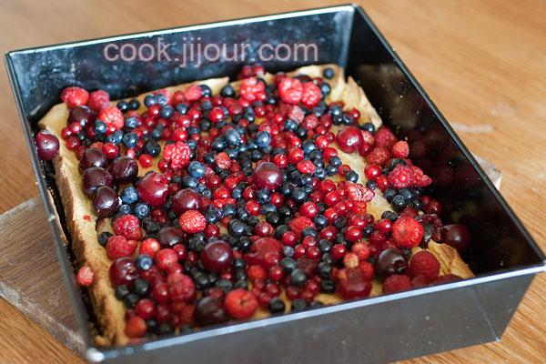 Бісквітно-желейний торт - фото 4