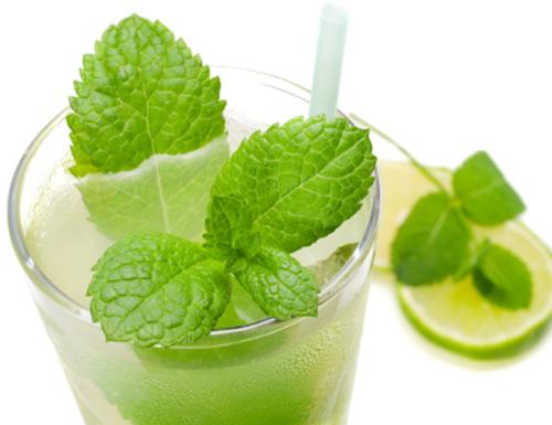 Лимонад із зеленого чаю