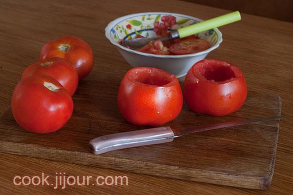Салат в помідорі - фото 2
