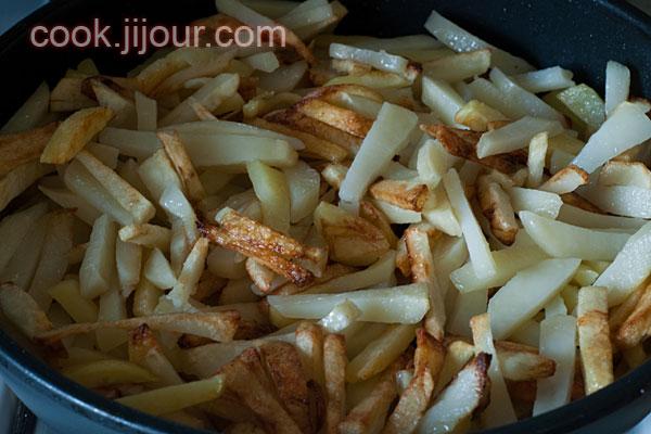 Смажена картопля з грибами - фото 2