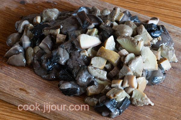 Смажена картопля з грибами - фото 3