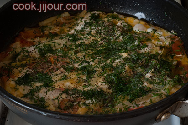 Яйця з овочами - фото 6