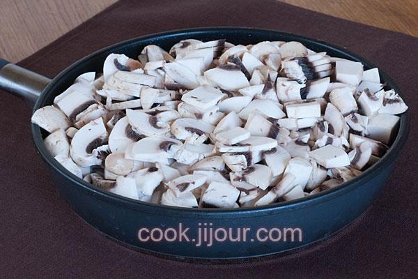 Куряче філе з грибами під сиром - фото 2