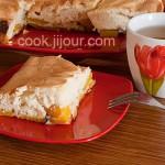 Пиріг з персиками