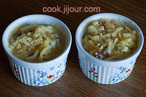 Яєчня з помідорами та куркою в духовці - фото 8
